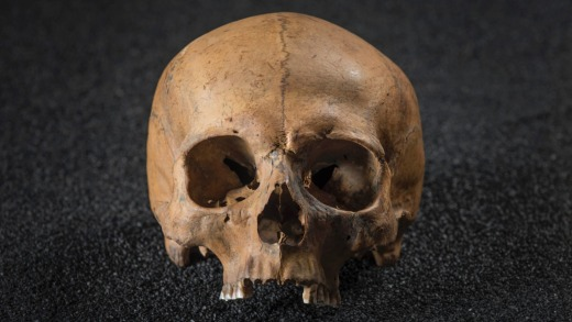 """In Finsbury Circus we learn that they found 50 skulls at the Crossrail ventilation shaft site. """"Not bodies, just the skulls."""""""