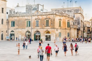 Ancient baroque palaces help make Lecce in Italy undeniably good-looking.