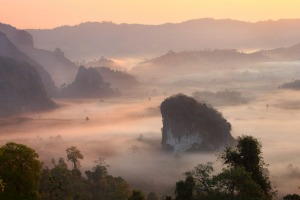 Phrae and Nan are found in north-east Thailand.
