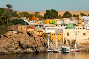 Blow your Instagram's mind with a visit to colourful Nubian village on Elephantine Island, in the middle of the Nile.