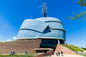 Canadian Museum for Human Rights in Winnipeg, Canada.