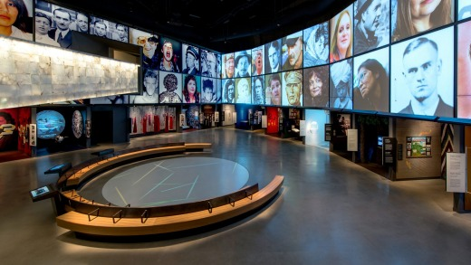Visitors will be enlightened by the museum's stories of human struggle.