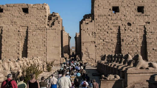 The Karnak temple complex is breathtaking in its vastness and one of Egypt's most popular sites.