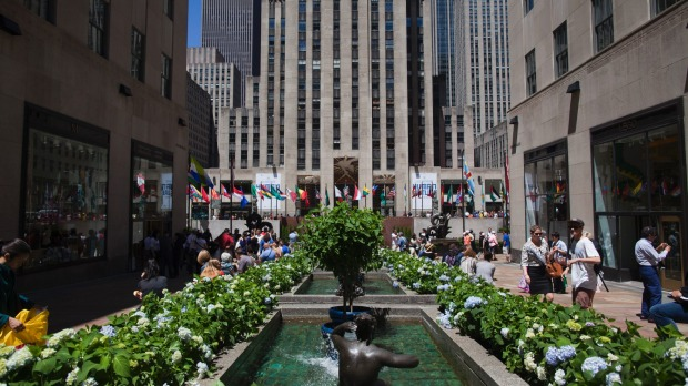 NBC has occupied the Rockefeller Centre for nearly a century.