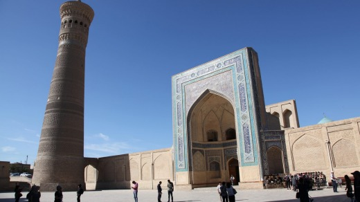 Many of the 'stan countries get few tourists, including Uzbekistan (pictured).