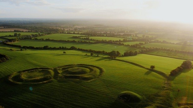 The Hill of Tara in Co. Meath was the Coronation place of Irelands pre-Christian kings.