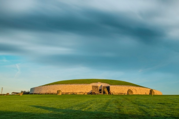 Newgrange in Co. Meath is best known for the illumination of its passage and chamber by the winter solstice sun.