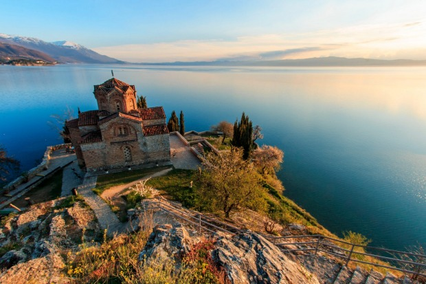 Lake Ohrid, Macedonia: Long Eastern Europe's best kept secret, Ohrid is sandwiched in the mountains between Albania and ...