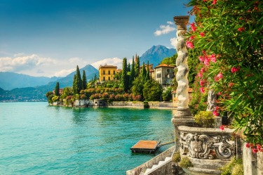 Lake Como, Italy: Formed by glaciers, Lake Como has long been the favoured retreat of Europe's wealthy and aristocratic. ...