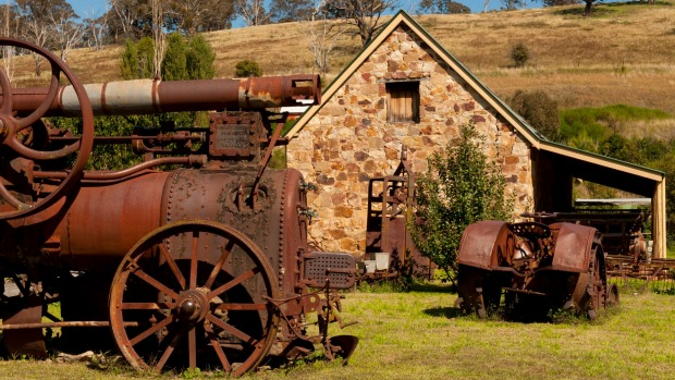 History is ever-present in Carcoar, NSW.