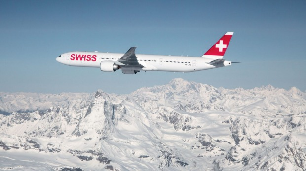 The business-class service on Swiss International Air Lines is polite, effective and fuss-free.