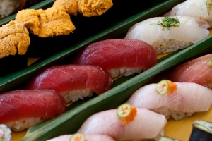 Chu toro sushi at Makoto is among the best you will find anywhere in Florida.
