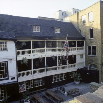 THE GEORGE INN: The Great Fire of London in 1666 destroyed most of London's historic pubs. One of the oldest is The ...