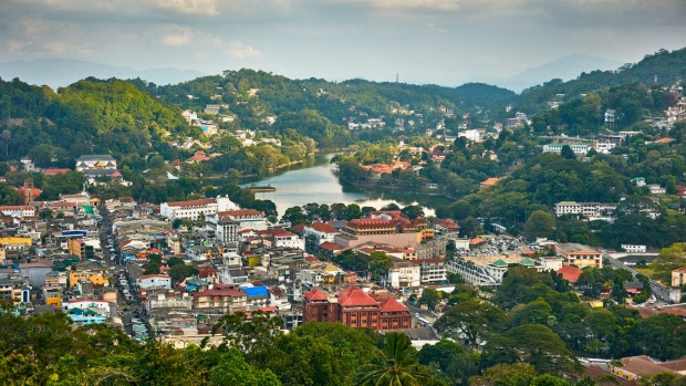 The city of Kandy is among the stops on the 14-day food tour, My Sri Lanka with Peter Kuruvita.