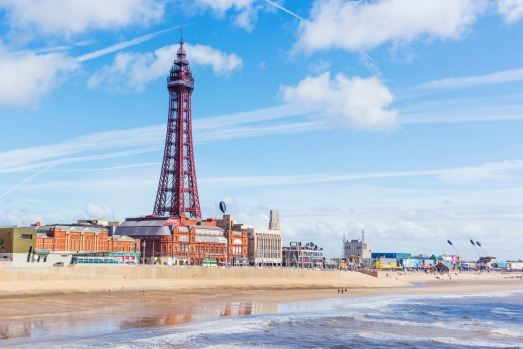 BLACKPOOL, UK: This homage to the Eiffel Tower has been a feature of Blackpool's waterfront since 1894, and is part of a ...