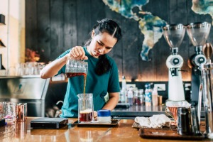 Oneday Wallflowers is one of Bangkok's most Instagrammable cafes.