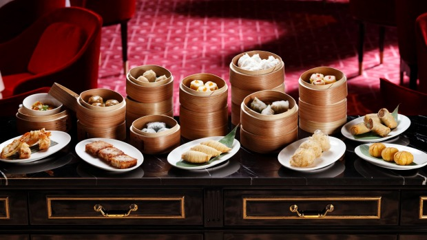 Dim sum goes next level at Madame Fan in Singapore.