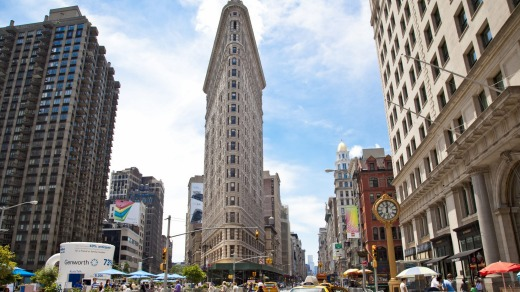 New York's Flatiron Building.