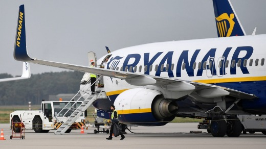 Budget airline Ryanair has received just one star out of five for its COVID-19 safety from AirlineRatings.com
