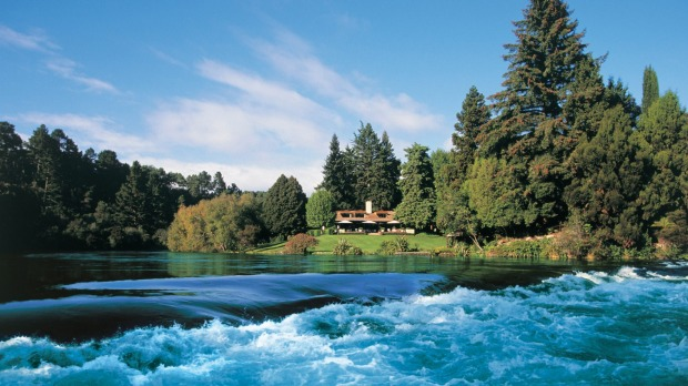 Huka Lodge is a place of utmost serenity.