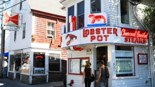 Provincetown's iconic Lobster Pot.