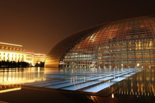 """ALIEN EGG, BEIJING: It's not hard to see why the National Centre for Performing Arts is nicknamed """"the Giant Egg"""", or as ..."""
