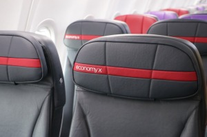 If you're looking for extra legroom in economy, this is the seat you want.