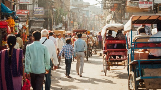 Visitors to Old Delhi can find the noise, heat and pungent smells confronting.