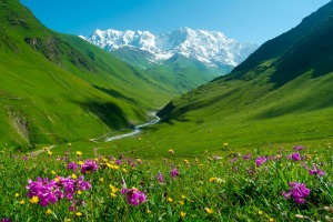 The stunning Svaneti region offers sweep-you-off-your-feet beauty.