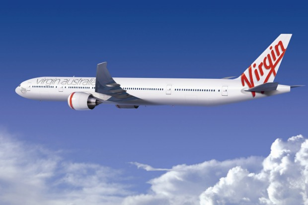 Virgin's Boeing 777-300 ER.