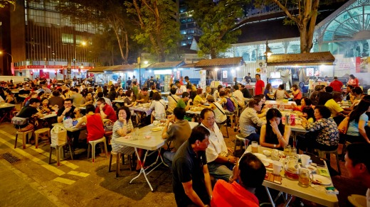 Boon Tat Street: Eating well in Singapore need not be expensive.