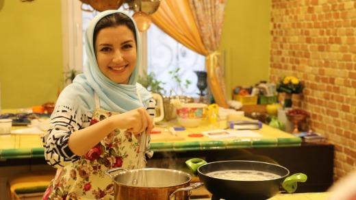 Matin Lashkari, co-founder of Persian Food Tours, is passionate about her country's cuisine.