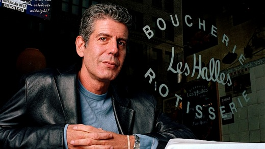 Anthony Bourdain reminded travellers of the joy of making delicious discoveries in unexpected places.