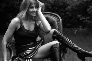 Anouska Hempel in 1970. The former Bond Girl is now one of the world's leading hotel design style icons.