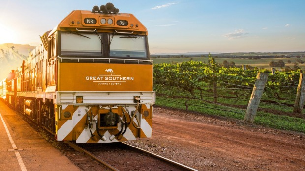 Great Southern train from Adelaide to Brisbane: Australia's