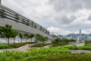 Hong Kong's West Kowloon Terminus is the gateway to mainland China's high-speed rail network.