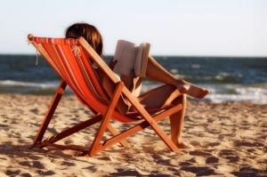 When you're on holiday don't be a literary snob.
