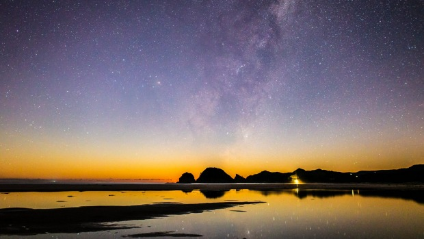 Great Barrier Island is one of only five dark sky sanctuaries in the world.