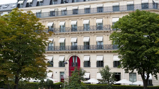 La Reserve Paris is very well located, but you probably won't want to leave.