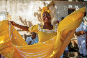 Oshun goddess dancing in Havana, which has a wealth of attractions for tourists.