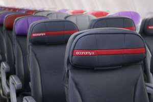 Virgin Australia's Economy X offers significantly more legroom, for a price.