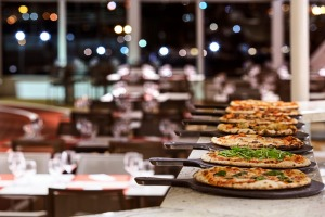 Italian restaurant Spaccanapoli is one of the dining options for guests on Silversea's Silver Muse.