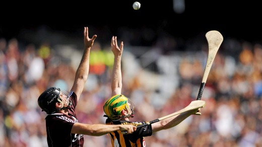 Hurling is described as a combination of ''hockey, lacrosse and second-degree murder''.