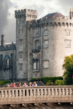 Kilkenny Castle is one of the features of the town's Medieval Mile.