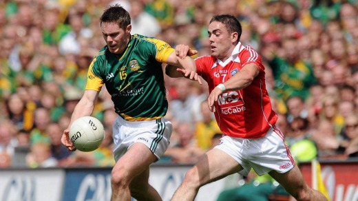 Gaelic football is one of the most popular sports in Ireland.