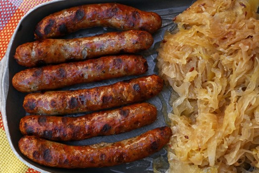 NURNBERGER BRATWURST: These small and moreish  pork sausages originate from Nuremberg, which is the only area allowed to ...