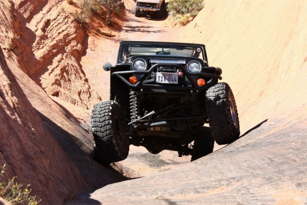 Hummer Adventure, Moab, Utah: You'll be glad someone else is driving on this thrill ride in a custom Hummer through ...