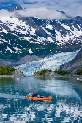 Go before global warming makes glaciers a melted moment.