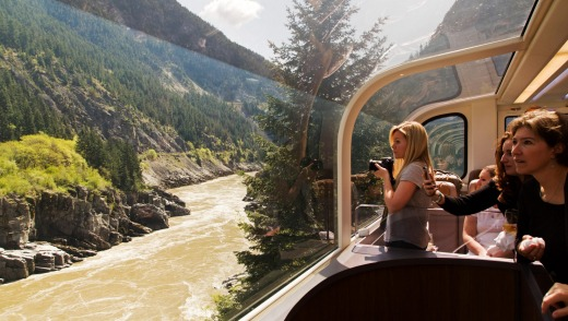 Canada's Rocky Mountaineer train trip is all at once a geological field trip, a sightseeing adventure and a wildlife safari.