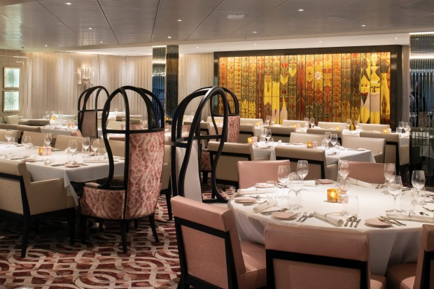 Normandie Restaurant. Instead of a single large main dining room, Edge offers four smaller main dining rooms, each with ...